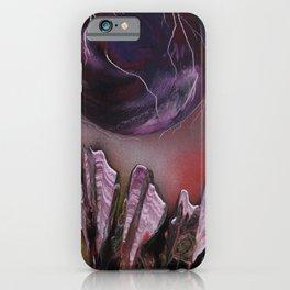 Purple Fluorite Field iPhone Case