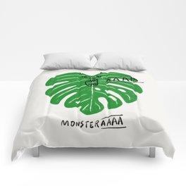 Monstera Comforters