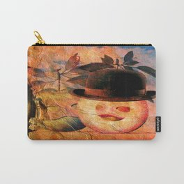 Monsieur Bone dans la pomme  Carry-All Pouch