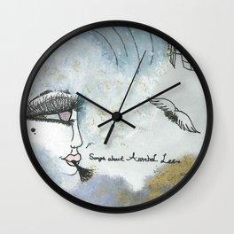 Edgar Allan Poe | Songs About Annabel Lee Wall Clock