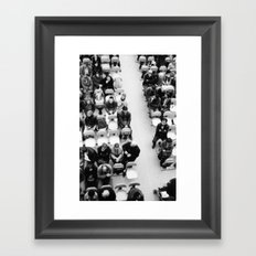 Boat ride Framed Art Print