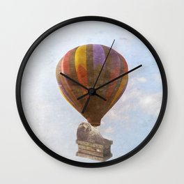 rising SEALevel Wall Clock