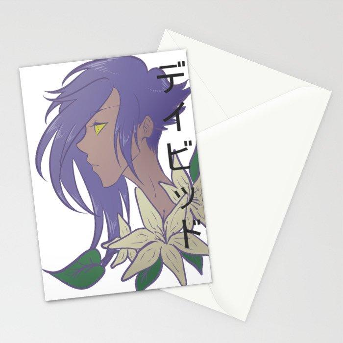 デイビッド David Stationery Cards