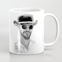 django Mugs featuring Django by Andy Christofi