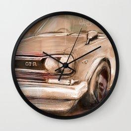 Datsun GTR Wall Clock