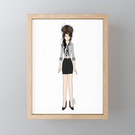 Amy Rehab Outfit 1 Framed Mini Art Print