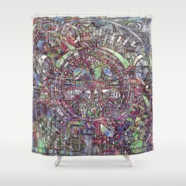The Draughtsmans Hypothesis Shower Curtain