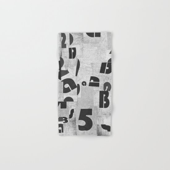 Abstract pattern 51 Hand & Bath Towel