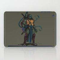 leonardo dicaprio iPad Cases featuring Leonardo by Teratophile