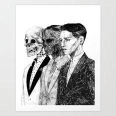 Exquisite corpse Art Print