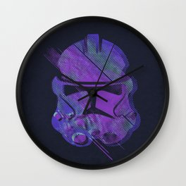 Splash Trooper Wall Clock
