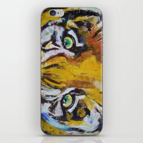 Tiger Psy Trance iPhone & iPod Skin