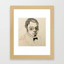 1920s fella Framed Art Print