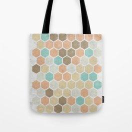 Geometric Maze Tote Bag