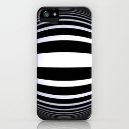 black-and-white -02- iPhone Case
