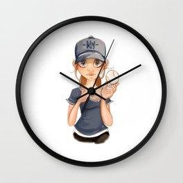 ny fan Wall Clock