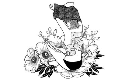 Art Print - I'm not mad, I'm hurt - Henn Kim