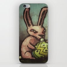 Evil Easter Bunny iPhone & iPod Skin