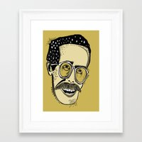 bill Framed Art Prints featuring Bill by Sarah Mould