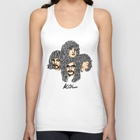 leon Tank Tops featuring Kings of leon by KVNCHRLZ