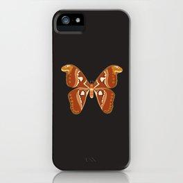 Atlas Moth (Attacus Atlas) iPhone Case