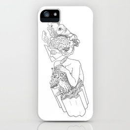 Input-Output iPhone Case