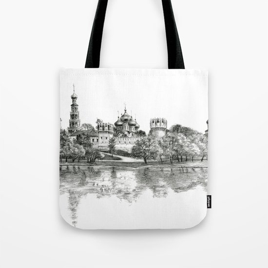 Novodevichy Convent G2010-005 Tote Bag