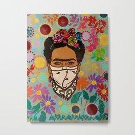 Viva La Frida! Metal Print