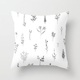 Wildflowers BIG Throw Pillow