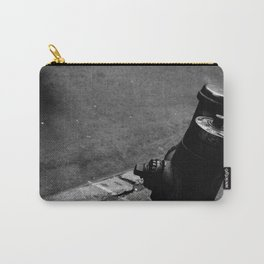 Fire Hydrant, Black and White Carry-All Pouch