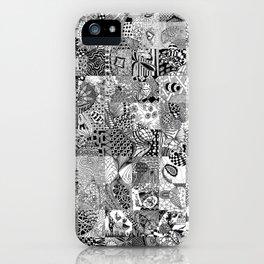 Doodling Together #3 iPhone Case
