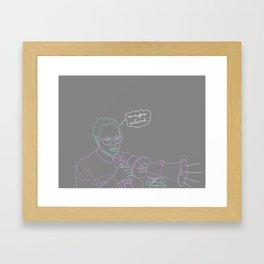 double loud Framed Art Print