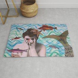The Mermaid Rug