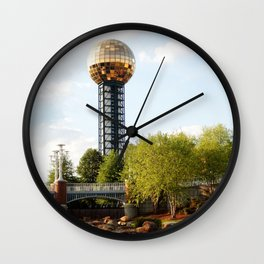 Knoxville Sunsphere 3 Wall Clock