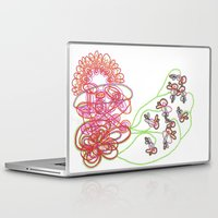 tequila Laptop & iPad Skins featuring Tequila Sunrise by Mary Holland