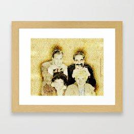 MARX BROTHERS - 004 Framed Art Print