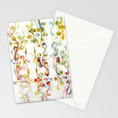 Arabesque pattern Stationery Cards