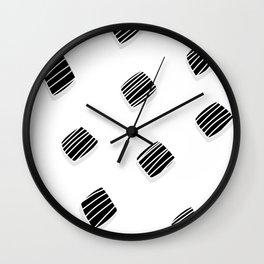 BLACK squares / minimal Wall Clock