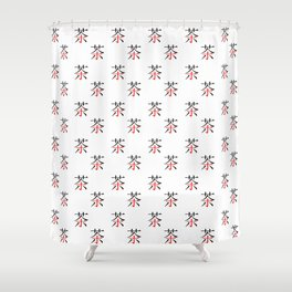 chinese ideogram : the tea Shower Curtain