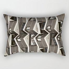 Balconies Pattern Rectangular Pillow
