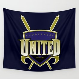 Quidditch Teams of the World: Puddlemere United Wall Tapestry