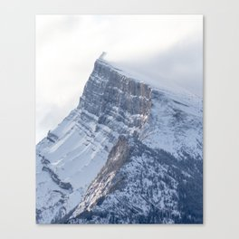 Mount Rundle Sunrise Canvas Print