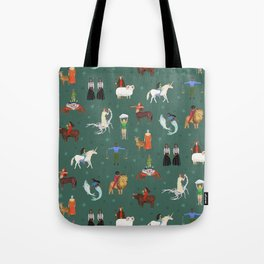 Warrior Women of the Zodiac Tote Bag