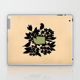 Washington - State Papercut Print Laptop & iPad Skin