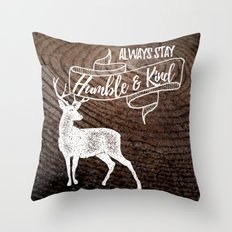 Always Stay Throw Pillow