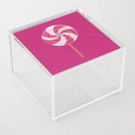 Pink Lollipop Acrylic Box
