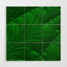 Renaissance Green Wood Wall Art