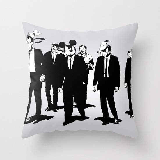 Walt's Protection Crew Throw Pillow