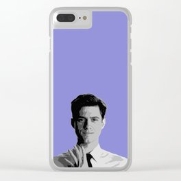 Aaron Tveit 19 Clear iPhone Case