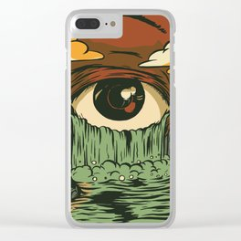 Toxic Tears Clear iPhone Case